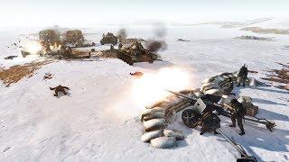 1944 German Evacuation Convoy Defense Line   RobZ   Men of War: Assault Squad 2 Gameplay