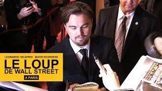 Le Loup de Wall Street - Leonardo DiCaprio et Martin Scorsese à Paris