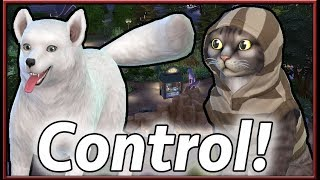 CONTROLLABLE Pets!!   The Sims 4: Cats & Dogs (Mod by Andrew and Orangemittens)