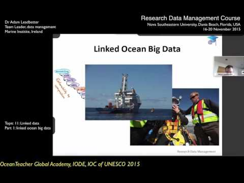 OceanTeacher - RDM-topic11-pt3 - Linked data : linked ocean big data
