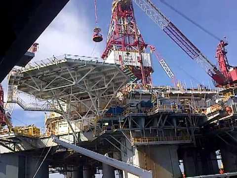 Oceon Monarch Drilling Rig