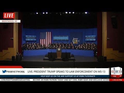 FULL SPEECH: President TRUMP Speaks on FIGHT Against MS-13 STREET GANG 7/28/17
