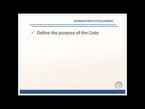 creating code of ethics