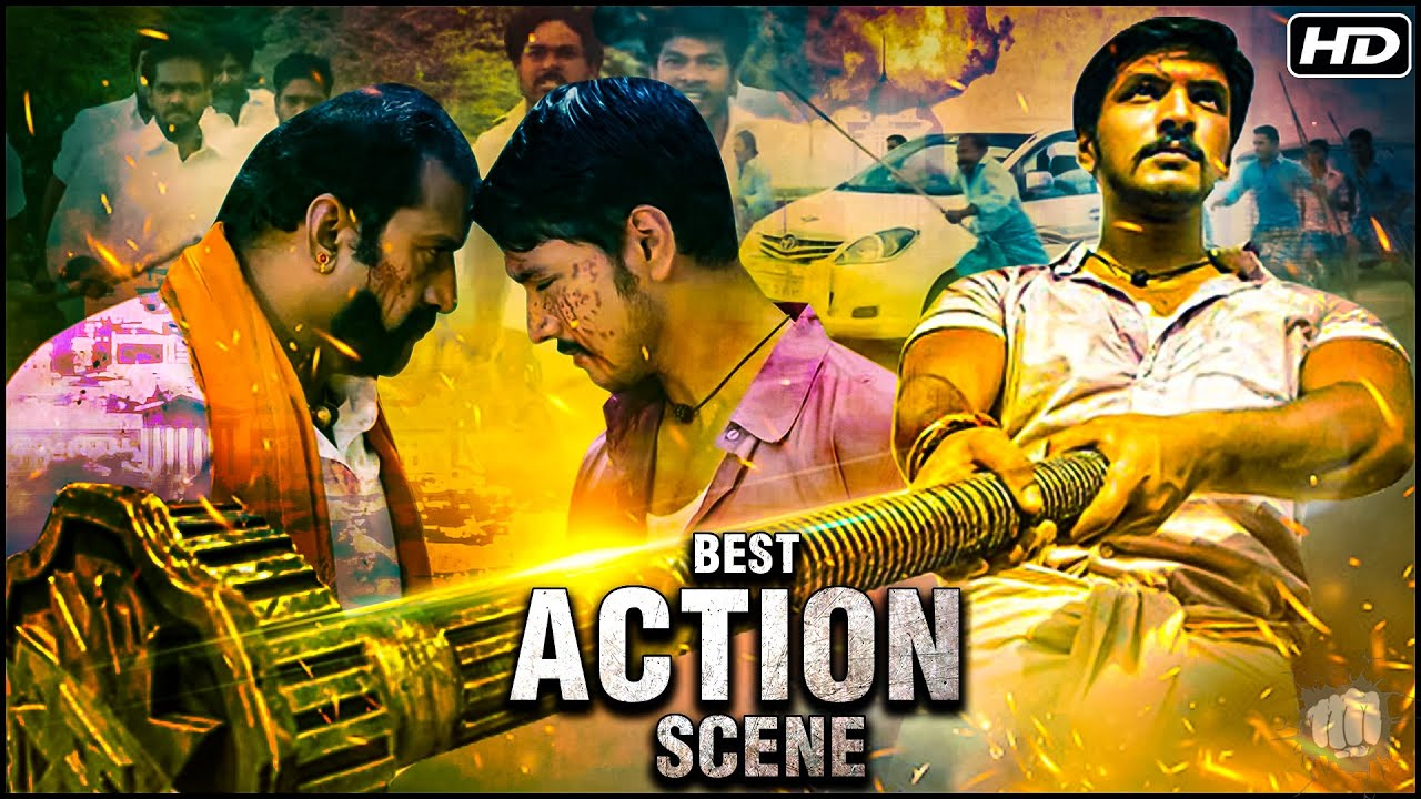 Best Action Scene Of Mera Dushman No.1 Movie | Gautham Karthik Action Scene | Hindi Dubbed Movies