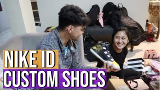 surprising my boyfriend with CUSTOM NIKE BASKETBALL SHOES!! Fail  process of NikeID (Philippines)