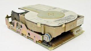 1989 Western Digital WD93028-X hard drive sounds