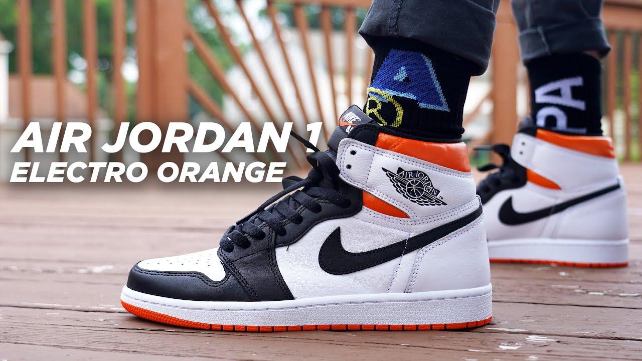 Air Jordan 1 ELECTRO ORANGE Review & On Foot