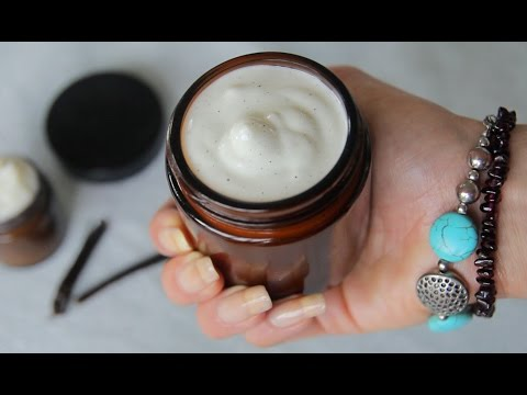 Natural Face Cream - vanilla bean & lavender!