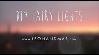 DIY Fairy lights