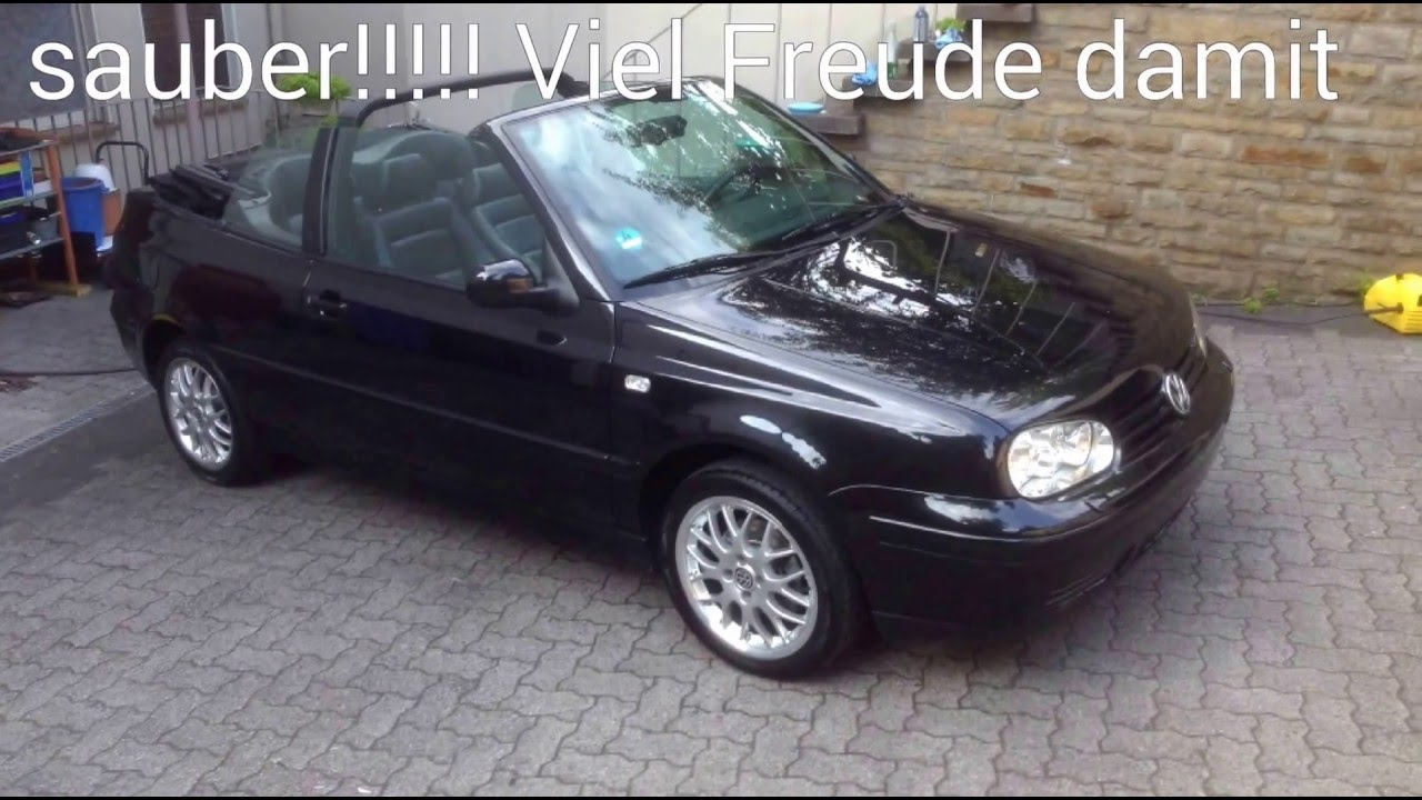 detailing vollaufbereitung vw golf 4 cabriolet youtube. Black Bedroom Furniture Sets. Home Design Ideas