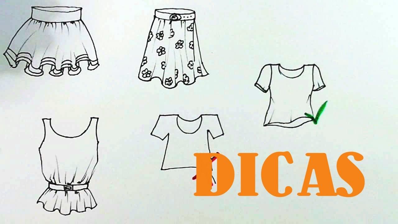 Dicas Para Desenhar Roupas Amostra Grátis Do Curso
