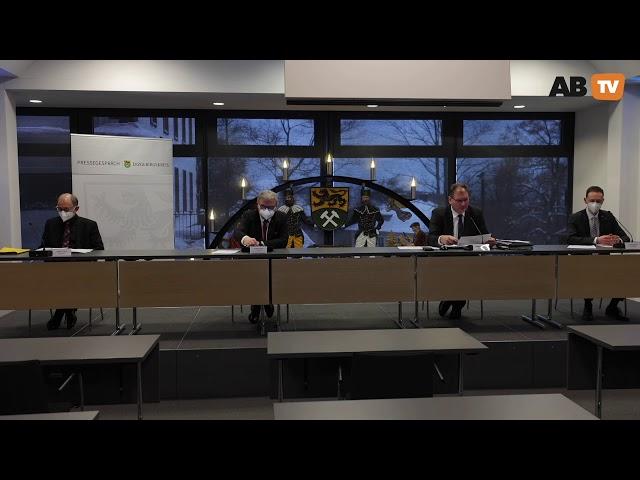 Pressekonferenz Landratsamt Erzgebirgskreis vom  14 01 2021