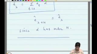 Mod-11 Lec-40 Transform Approach to Cyclic Codes