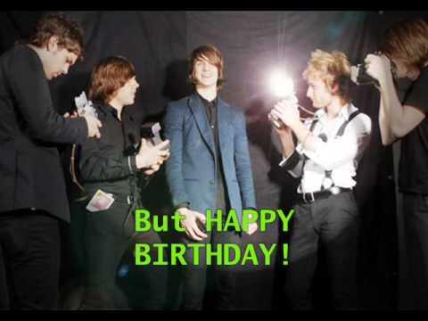 The Click Five - Happy Birthday (Lyric)