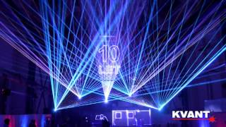2016 dtz brno 10周年 レーザーショー