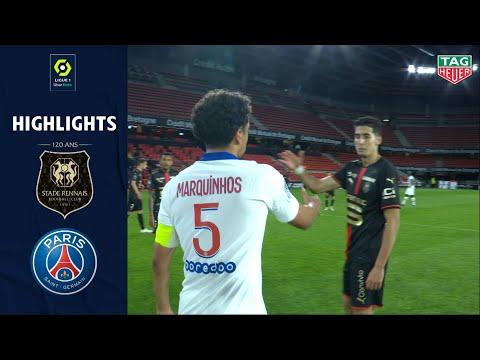 STADE RENNAIS FC - PARIS SAINT-GERMAIN (1 - 1) - Highlights - (SRFC - PSG) / 2020-2021