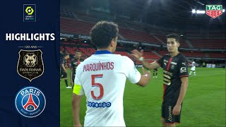 STADE RENNAIS FC - PARIS SAINT-GERMAIN (1 - 1) - Highlights - (SRFC - PSG) / 2020-2021