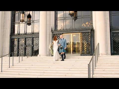 A Love-Filled Wedding at a Detroit Art Museum - Martha Stewart Weddings