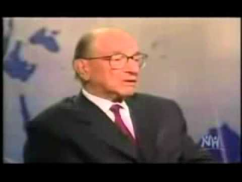Alan Greenspan ~ The Federal Reserve Is Above The Law