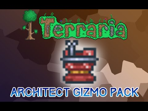 Terraria 1.3: Architect Gizmo Pack ( Must Have for Builders )
