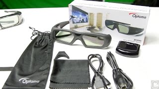 Optoma ZF2300 3D Starter Kit [Unboxing/Impressions]