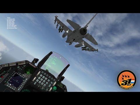Falcon BMS: First Flight: Diver - 31st VFS NL