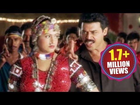 Seenu Movie Songs - O Manali O Manali - Daggubati Venkatesh, Raasi