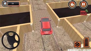 Puzzle Car Parking: Escape the Maze 2 | Parking Maze Simulator Impossible Level - Android GamePlay