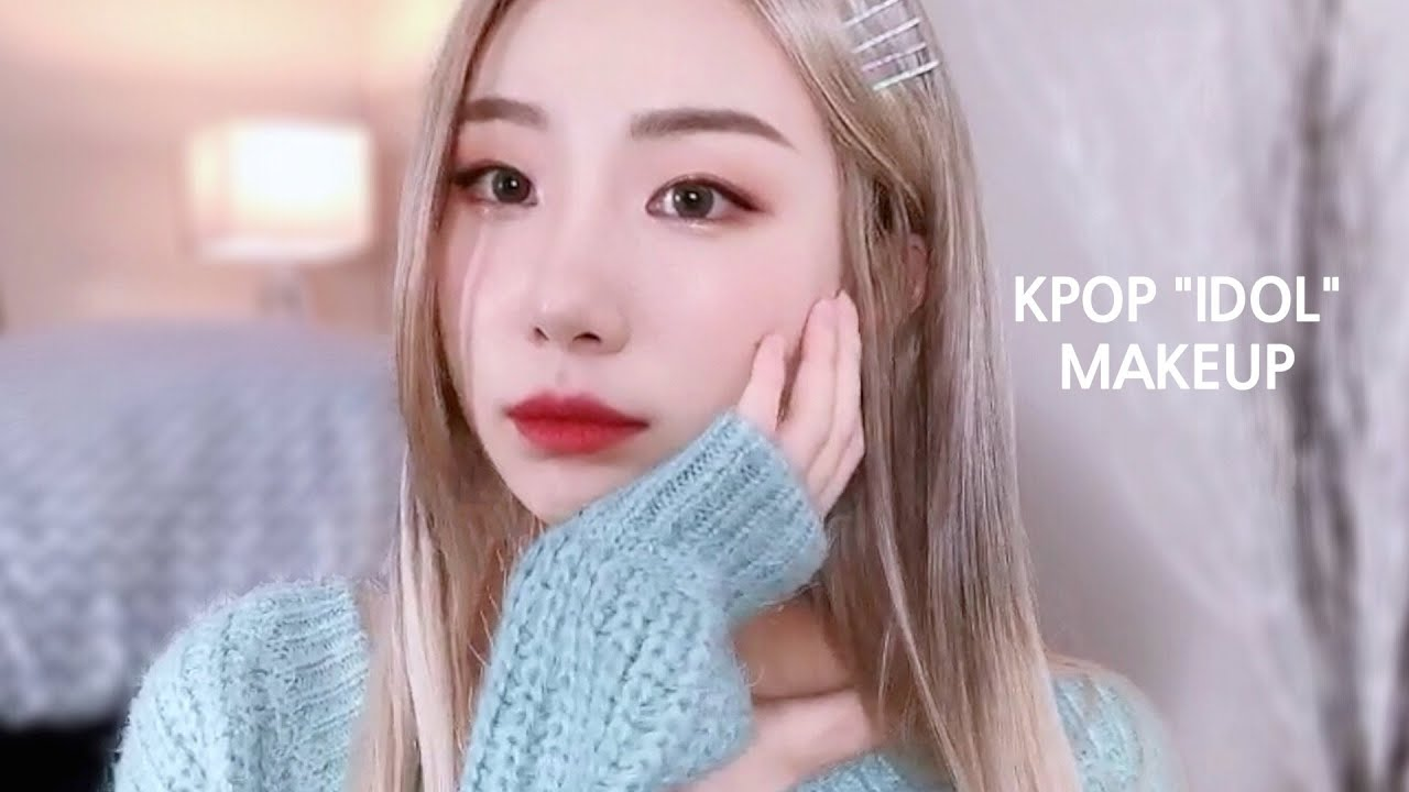 K Pop Makeover How To Do Korean Idol Makeup Youtube