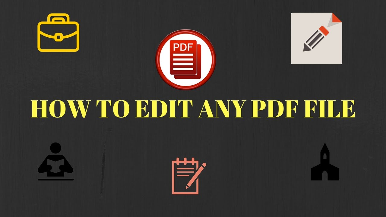 How To Edit Pdf File And Change Any Text  2017  [official]
