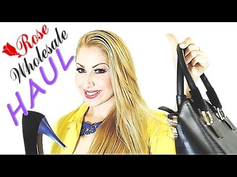 FASHION  HAUL ROSE WHOLESALE  compritas de moda abril 2014