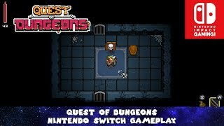 Quest Of Dungeons Nintendo Switch Gameplay