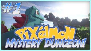 "Minecraft Pixelmon - ""BECOME PIXELMON?"" - Pixelmon Mystery Dungeon - (Minecraft Pokemon Mod) Part 1"