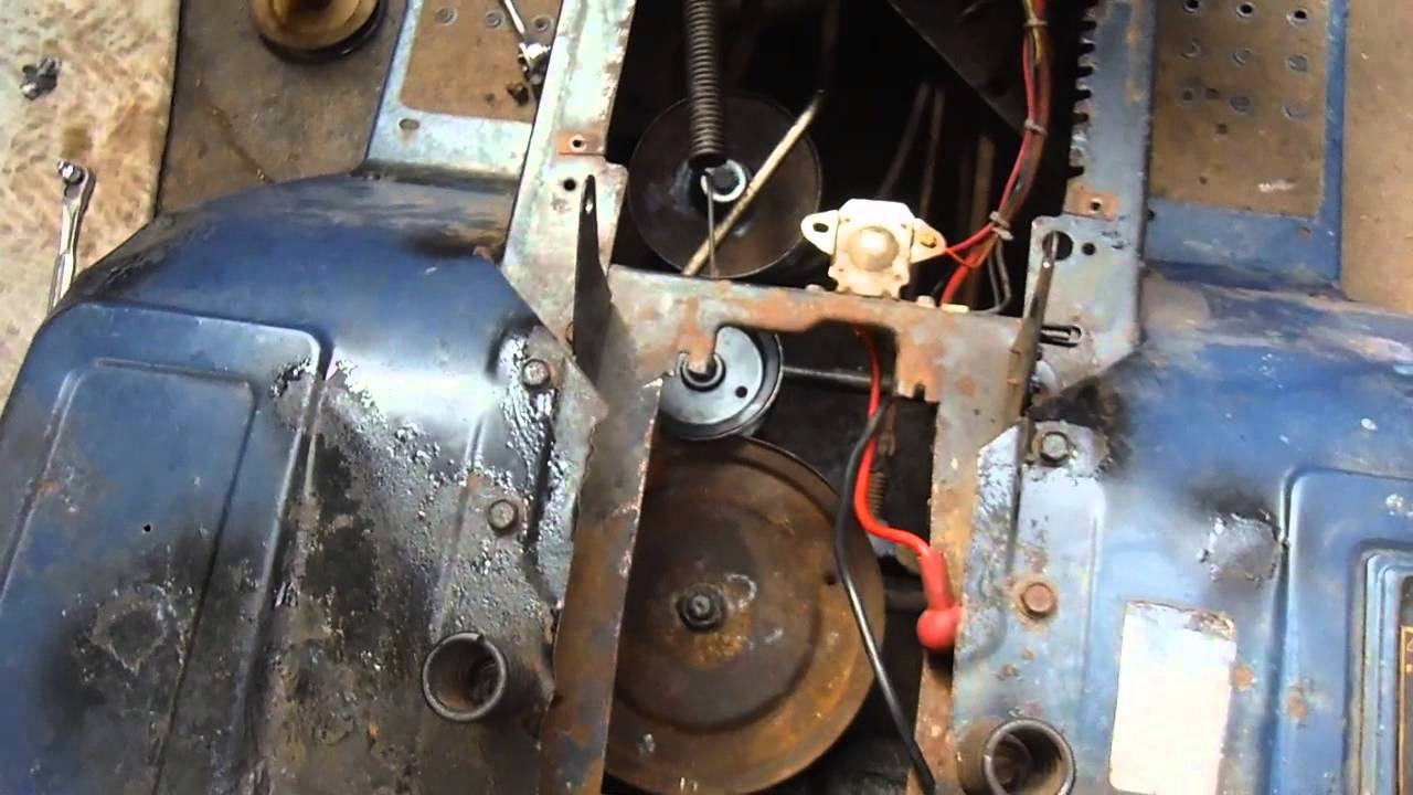 small resolution of drive belt change on mtd lawn mower