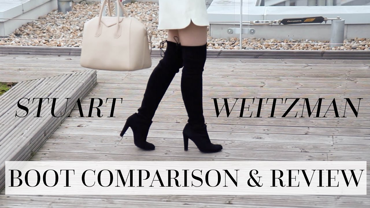 76c1e986ca4 Stuart Weitzman Highlands vs. Lowlands vs. 5050 Boot Comparison and ...