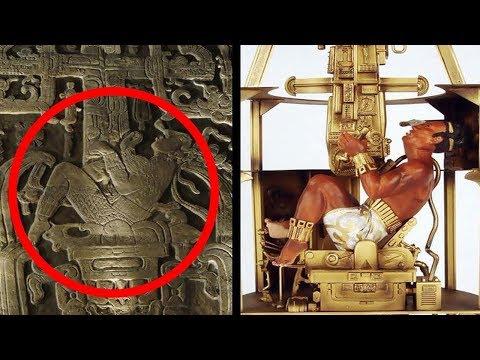 Pakal, el extraterrestre que fue rey de los mayas.
