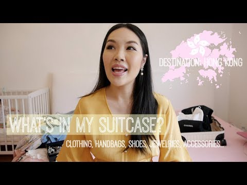 What's In My Suitcase?💕Hong Kong Edition | ANGELBIRDBB