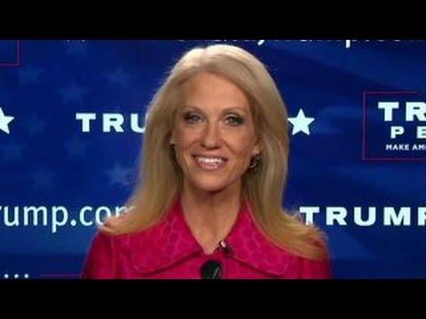 Kellyanne Conway weighs in on Trump transition