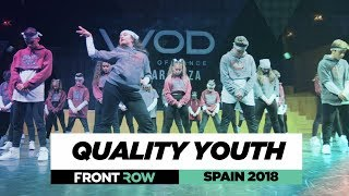 QUALITY YOUTH  | Junior Division | FRONTROW | World of Dance Spain 2018 | #WODSP18