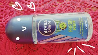 Nivea Men Fresh Power roll on deo Review