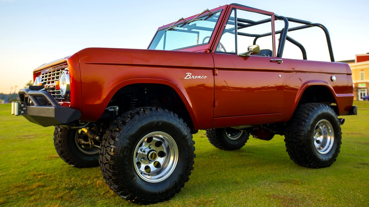 1971 Early Ford Bronco By Velocity