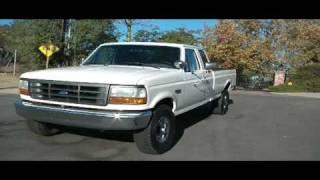 1996 Ford F-250 4X4 67k Orig miles Strech Cab Like NEW!! Original Owner Pickup Truck 350