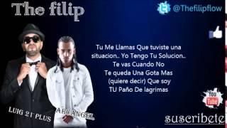 Lui-G 21 Plus Ft. Arcangel -- Paño De Lágrimas (Con Letra) (2014)