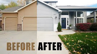 How to Paint House Exterior