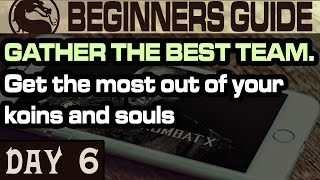 MKX Tips And Tricks Day 6. Best way to spend souls and koins (Mortal Kombat X IOS/Android)