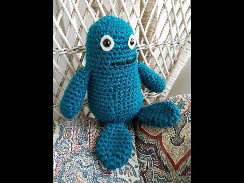 Jelly Bean Monsters Amigurumi Crochet Pattern