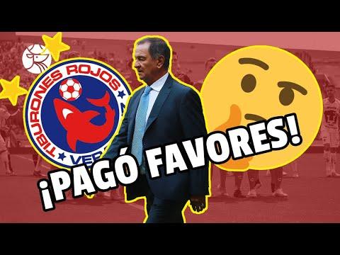 ¿Pagando favores? | Enrique Meza dirigió a Veracruz por culpa de promotor