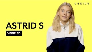 "Astrid S ""Think Before I Talk"" Official Lyrics & Meaning 