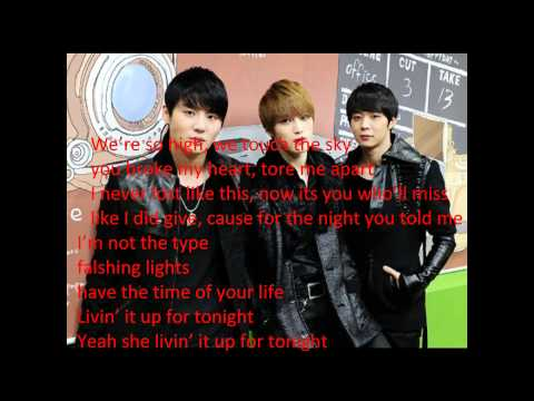 JYJ feat Kanye West ayyy girls lyrics HD
