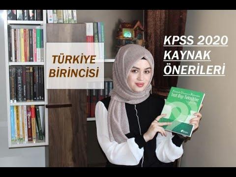 KPSS'ye Hazırlanırken Kullandığım Kaynaklar 📚 #Kaynakönerisi